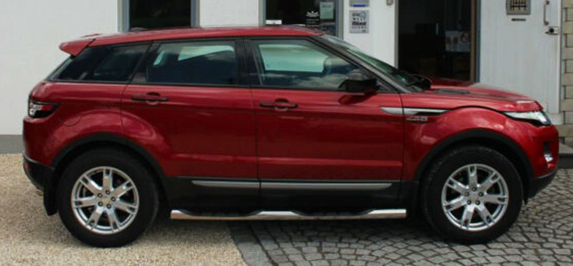 Evoque rouge bordeaux